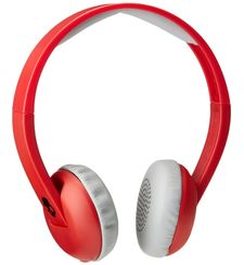 SKULLCANDY BLUETOOTH HEADPHONE,  red