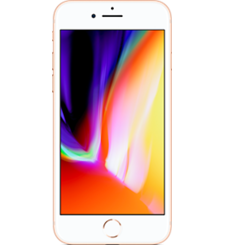 APPLE IPHONE 8,  gold, 256gb