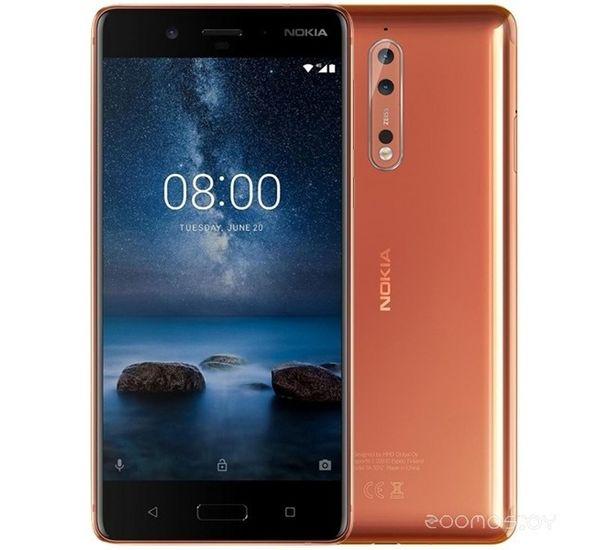 NOKIA 8 64GB DUAL SIM, polished copper