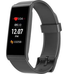 NOT FOR SALE - MY KRONOZ ACTIVITY TRACKER WITH TOUCH SCREEN BLACK