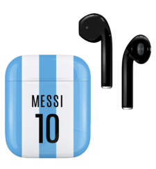 APPLE AIRPODS FIFA SUPERSTARS SERIES,  messi, gloss