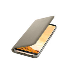SAMSUNG GALAXY S8 PLUS LED VIEW COVER,   gold