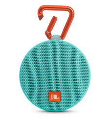 JBL CLIP 2 FULL-FEATURED WATERPROOF ULTRA-PORTABLE SPEAKER,  teal