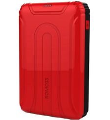 ROMOSS USTYLE 10000MAH POWER BANK,  red