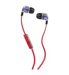 SKULLCANDY STEREO EARPHONE,  red