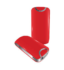 MYCANDY PORTABLE POWER BANK 5600MAH,  red