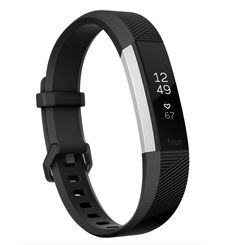 FITBIT ALTA HR LARGE,  black