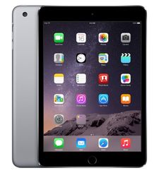 APPLE IPAD MINI 3 4G 128GB,  رمادي