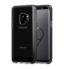 TECH21 GALAXY S9 BACK CASE CHECK,  black