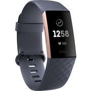 FITBIT ACTIVITY TRACKER CHARGE 3 ROSE GOLD/BLUE GREY