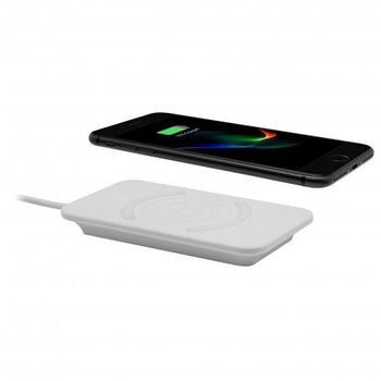 AIINO WIRELESS CHARGER WITH QI CHARGE,  white