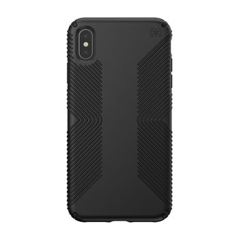 SPECK IPHONE XS MAX GRIP BACK CASE BLACK