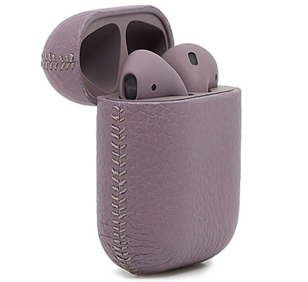 APPLE AIRPODS CALF LILAC BLACK LABEL EDITION