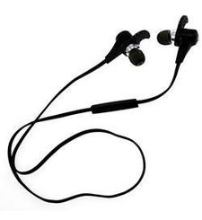 NUSHH BLUETOOTH SPORTS STEREO HEADSET,  black