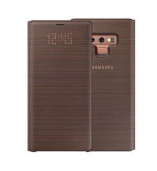 SAMSUNG GALAXY NOTE 9 LED VIEW COVER CASE,  brown