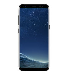SAMSUNG GALAXY S8 PLUS 64GB DUAL SIM 4G LTE,  black