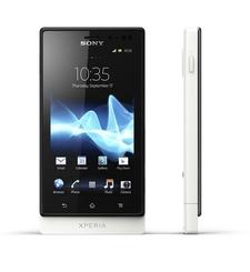 SONY XPERIA SOLA 4G LTE,  white