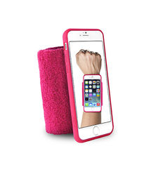 "PURO IPHONE 6 4.7"" RUNNING WRISTBAND WITH KEY POCKET,  pink"