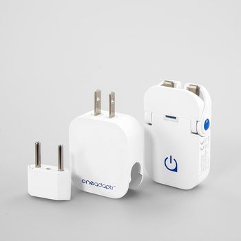 ONE ADAPTR CHARGER FLIP DUO WORLD