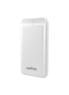 SWITCH POWERPACK GO MAX 20, 000 USB & TYPE-C PD18W POWER BANK,  white