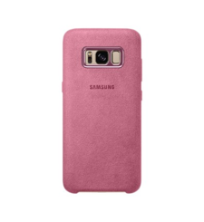 SAMSUNG GALAXY S8 PLUS ALCANTARA COVER,  pink