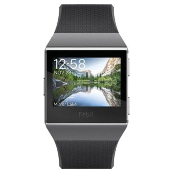 FITBIT SMART WATCH IONIC ACTIVITY TRACKER CHARCOAL SMOKE GREY