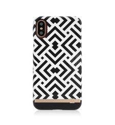 UUNIQUE IPHONE X BACK CASE GEOMETRIC,  white