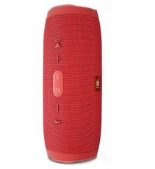 JBL Charge 3 Waterproof Portable Bluetooth Speaker,  red