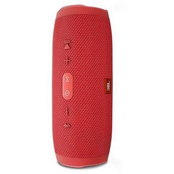 JBL CHARGE 3 WATERPROOF PORTABLE BLUETOOTH SPEAKER,  red