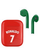APPLE AIRPODS FIFA SUPERSTARS SERIES,  ronaldo, gloss