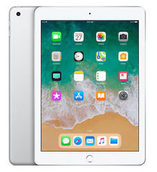 APPLE IPAD 6TH GEN 2018 9.7 INCH,  silver , wifi