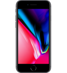 APPLE IPHONE 8,  space gray, 64gb