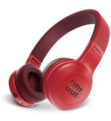 JBL E45BT WIRELESS ON-EAR HEADPHONE,  red
