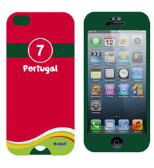IPHONE 5/5S FOOTBALL CASES,  portugal