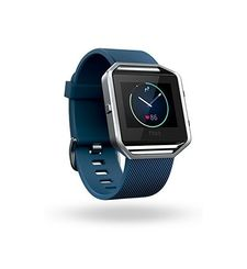 FITBIT BLAZE LARGE,  blue silver