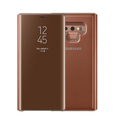 SAMSUNG GALAXY NOTE 9 CLEAR VIEW STANDING CASE,  brown