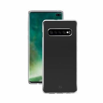 XQISIT GALAXY S10 PLUS BACK CASE FLEX CLEAR