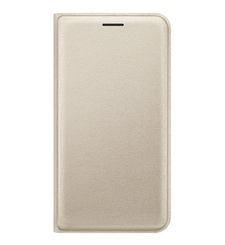 MYCANDY GALAXY J320 FLIP COVER,  gold
