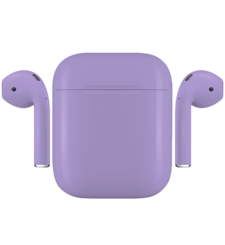 APPLE AIRPODS PAINTED SPECIAL EDITION,  lavender, matte