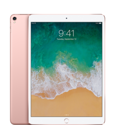 APPLE IPAD PRO 10.5IN 2017,  rose gold, 256gb, 4g lte