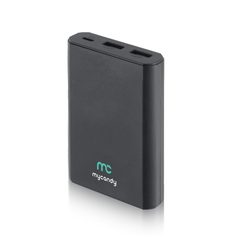 MYCANDY POWER BANK 10K MAH QC 3 PB20 FG,  black