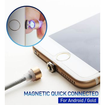 RED DOT ANDROID MAGNETIC CHARGING CABLE