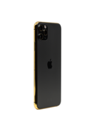 APPLE IPHONE 11 PRO MAX 256GB WITH 24K GOLD PLATED FRAME,  space gray