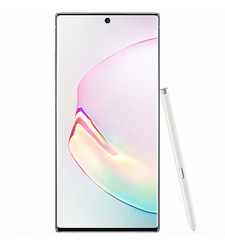 SAMSUNG NOTE 10 PLUS DUAL SIM 4G LTE,  white, 512gb