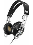 SENNHEISER ON EAR HEADPHONE MOMENTUM APPLE,  black