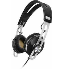 SENNHEISER ON EAR HEADPHONE MOMENTUM APPLE,  black