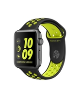APPLE WATCH NIKE+ SERIES 2 SPACE GRAY ALUMINUM CASE WITH BLACK/VOLT NIKE SPORT BAND MP0AZ2P/A