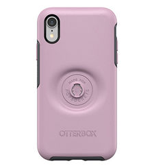 OTTERBOX IPHONE XR MAX BACK CASE POP SYMMETRY,  mauveolous pink
