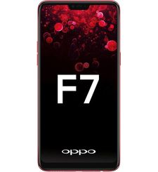 OPPO F7 64GB 4GB RAM DUAL SIM,  red