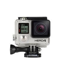 GoPro Hero4 12MP 1080P Video Wifi Bluetooth Black Standard Edition, 12 mp